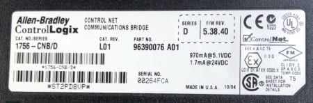 Allen Bradley 1756-CNB-L01
