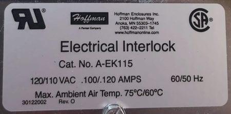 Hoffman A-EK115