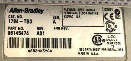 Allen Bradley 1794-IB32-A01