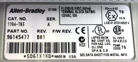 Allen Bradley 1794-OB16P-A02