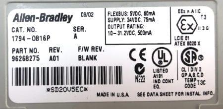 Allen Bradley 1794-OB16P-A01