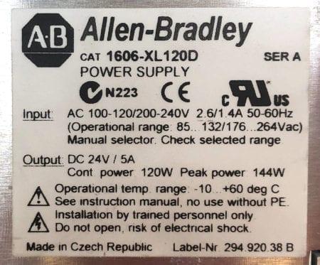 Allen Bradley 1606-XL120D