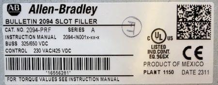 Allen Bradley 2094-PRF