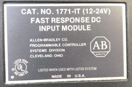 Allen Bradley 1771-IT