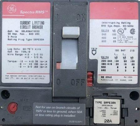 General Electric SELA36AT0030-20-ST