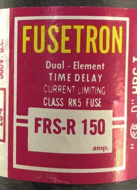 Fusetron FRS-R 150-3