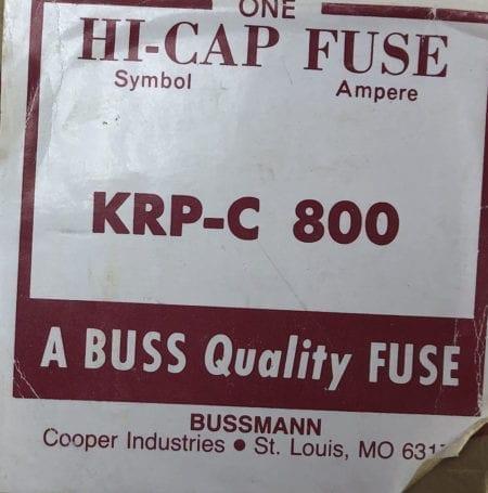 Bussmann KRP-C 800-NIB-3