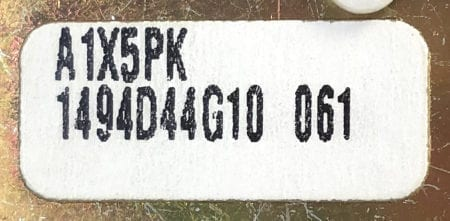 Eaton Cutler Hammer A1X5PK