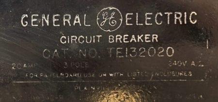 General Electric TE132020-BF