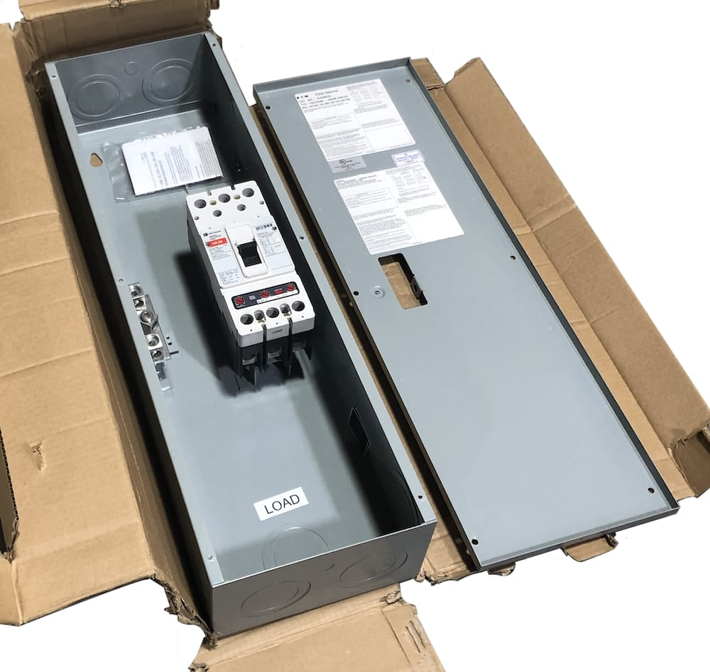 SJDN250 Eaton 250 Amp 2 Pole Circuit Breaker Enclosure