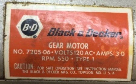 Westinghouse Black Decker 7205-06