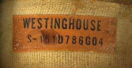 Westinghouse S151D786G04