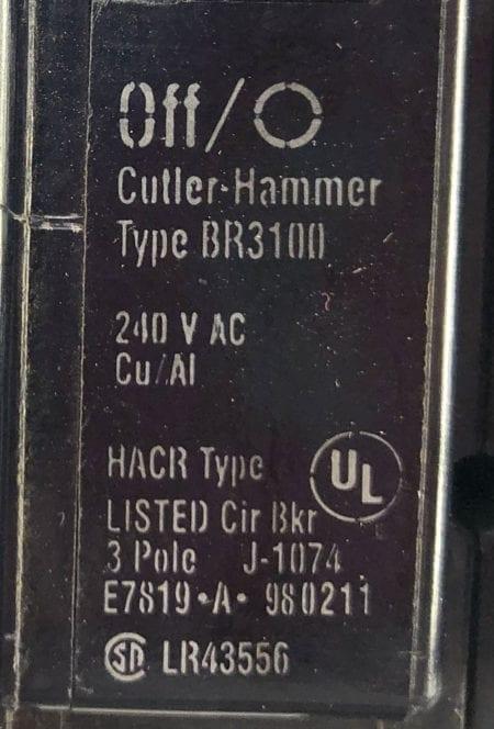 Cutler Hammer BR3100