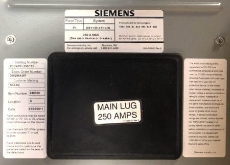 Siemens P1C42ML250CTS-NEW