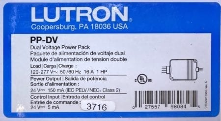 Lutron LOS-CDT-2000-WH-PACK-NIB