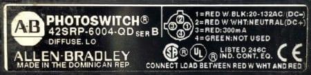 Allen Bradley 42SRP-6004-QD