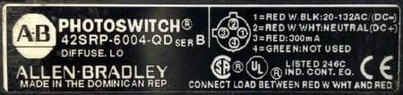 Allen Bradley 42SRP-6002-QD
