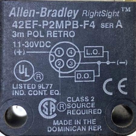 Allen Bradley 42EF-P2MPB-F4