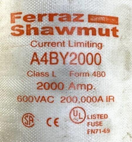 Ferraz Shawmut A4BY2000