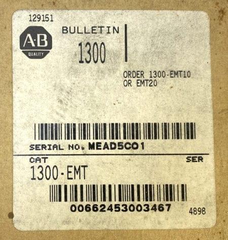 Allen Bradley 1300-EMT-NIB