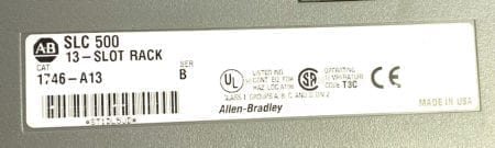 Allen Bradley 1746-A13-1A-2O-6I