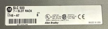 Allen Bradley 1746-P2-7S-4I-2O-1S
