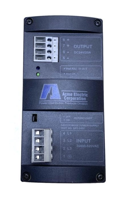 Acme Electric DR3-2420-CRACK
