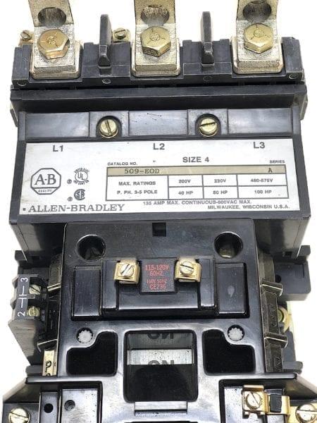 Allen Bradley 509-EOD