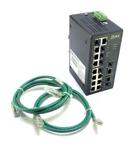 Elinx B&B Electronics EIR418-2SFP-T