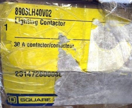 Square D 8903LH40V02-NIB