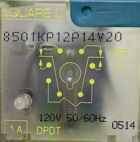 Square D 8501KP12P14V20