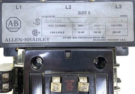 Allen Bradley 505-FOD