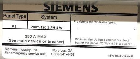 Siemens P1C42ML125CTS