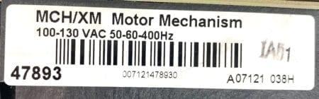 Square D MCH/XM 47893
