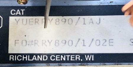 Allen Bradley YUERRY890/1AJ