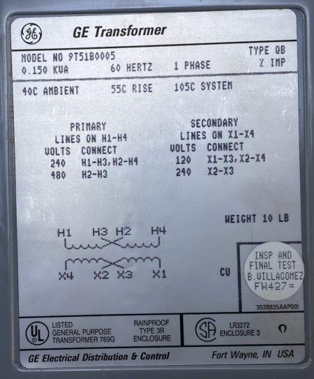 General Electric 9T51B0005-SUR