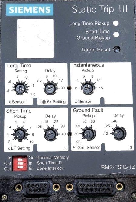 Siemens RMS-TSIG-TZ