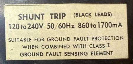 Square D FA340301021-GL