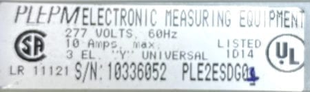 General Electric PLE2ESDG01