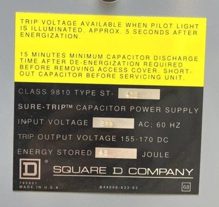 Square D 9810ST400
