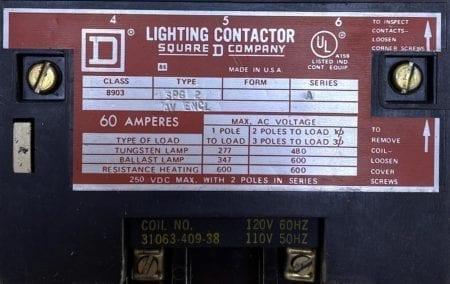 Square D 8903SPG-120