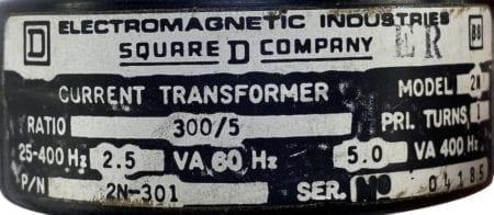 Square D 2N-301