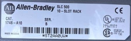 Allen Bradley 1746-A10-B