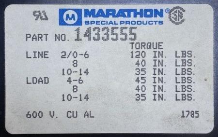 Marathon 1433555