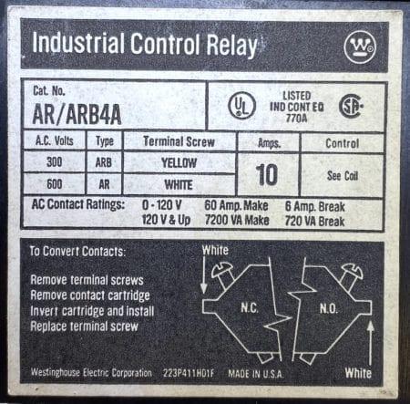 Westinghouse AR/ARB4A