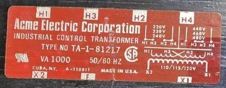 Acme TA-1-81217