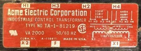ACME TA-1-81219