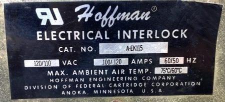 Hoffman AEK115