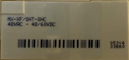 Square D MX-XF/SHT-SHC-48