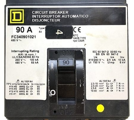 Square D FC340901021-GL